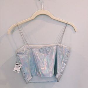 Holographic Crop Top from Akira